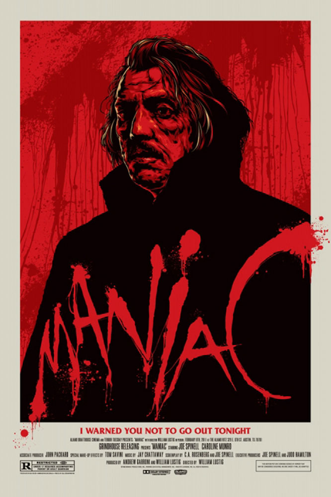 Maniac par William Lustig (61 x 91 cm)