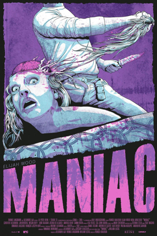 Maniac - Regular by Franck Khalfoun (24 x 36 in)