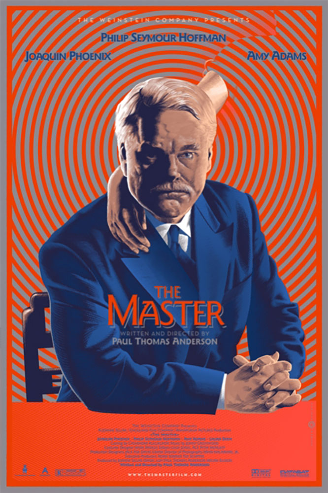 Master (the) par Paul Thomas Anderson (61 x 91 cm)