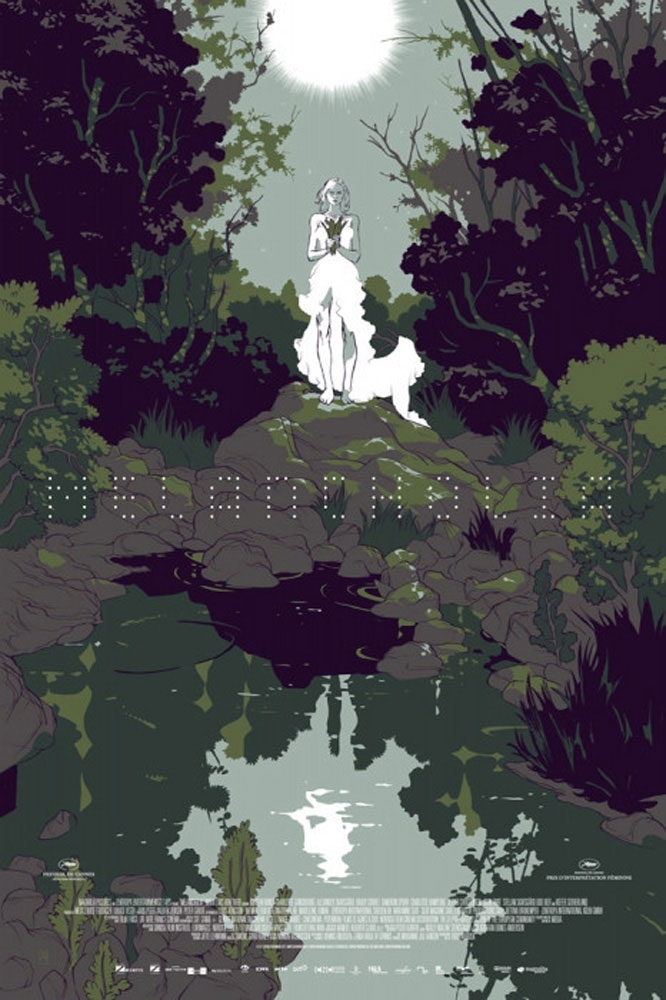 Melancholia - Green by Lars Von Trier (24 x 36 in)
