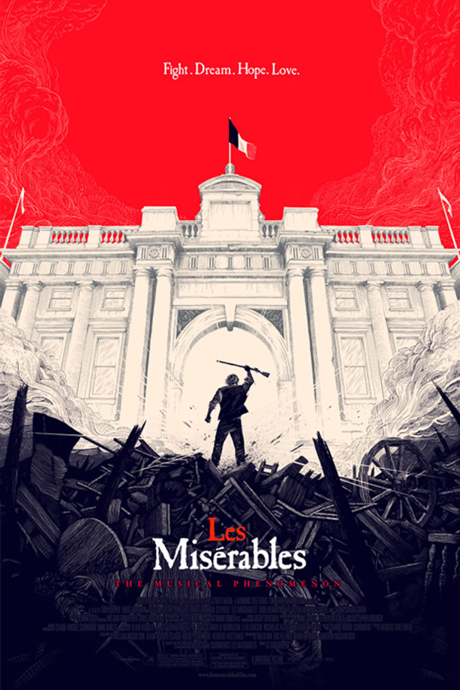 Miserables (les) par Tom Hooper (61 x 91 cm)