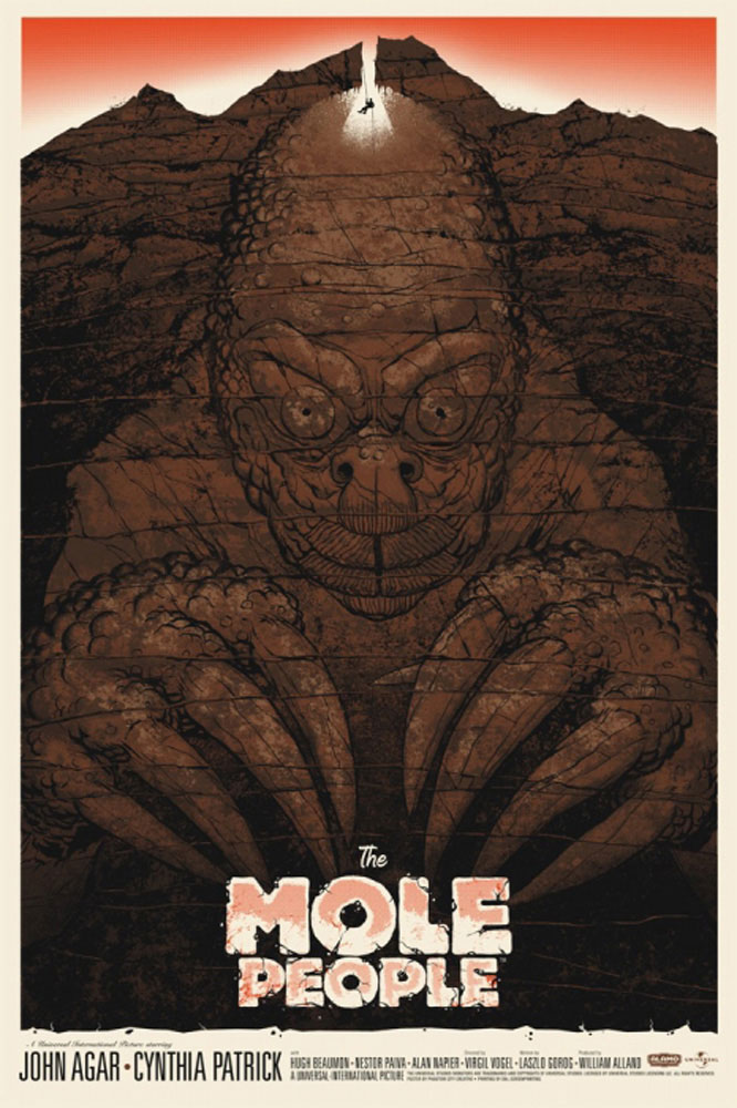 Mole People (the) by Virgil W Vogel (24 x 36 in)