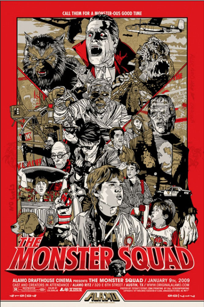 Monster Squad (the) - Red par Fred Dekker (61 x 91 cm)
