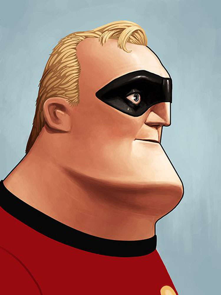 Incredibles (the) - Mr Incredible par Shiraz Akmal