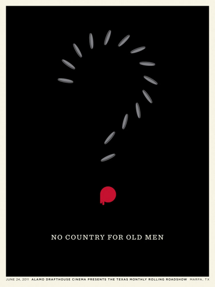 No Country For Old Men par Joel Cohen (45 x 61 cm)