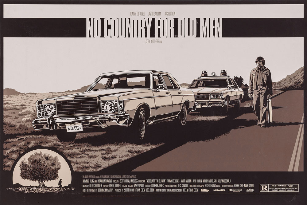 No Country For Old Men by Joel Cohen (24 x 36 in)