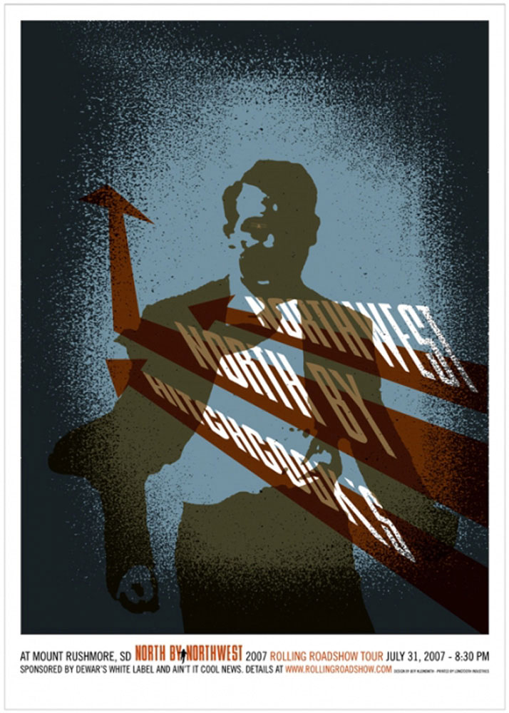 North By Northwest by Alfred Hitchcock (23 x 32 in)