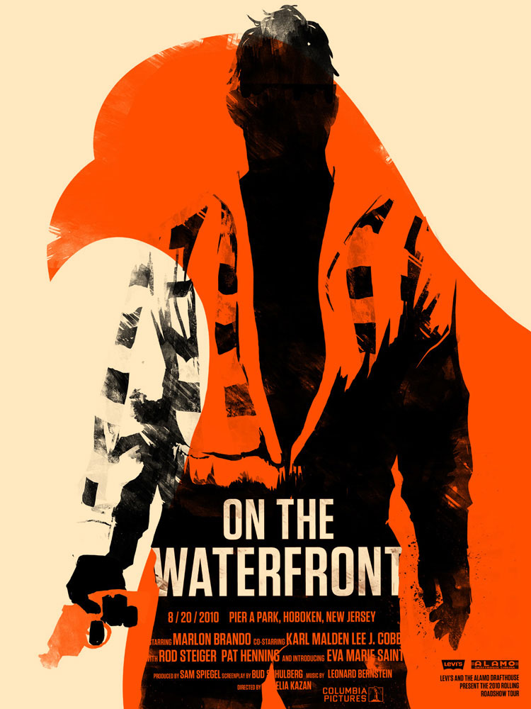 On The Waterfront by Elia Kazan (18 x 24 in)