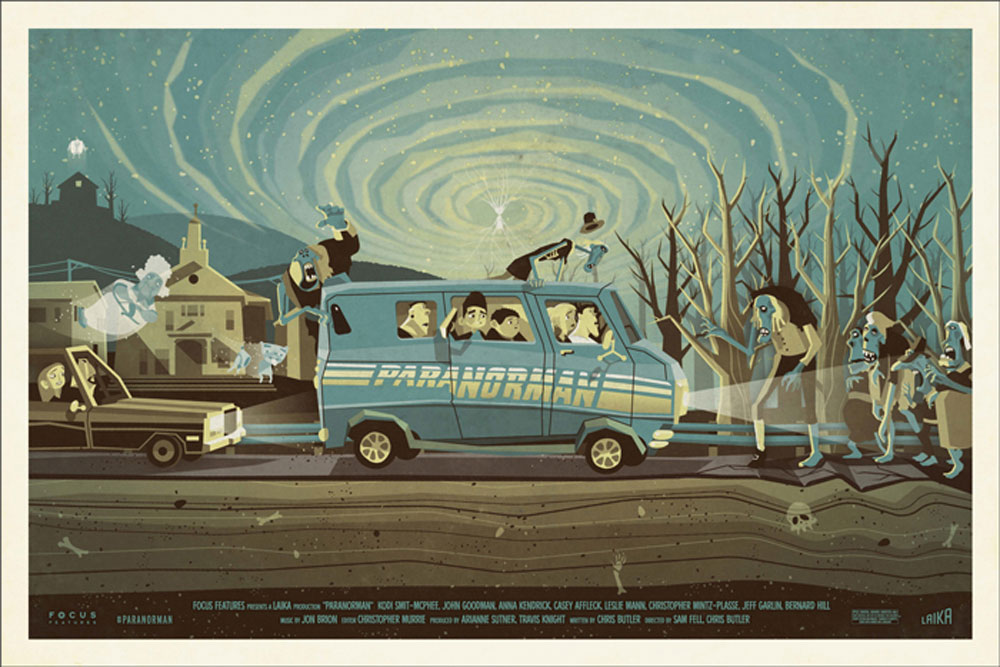 Paranorman by Chris Butler (24 x 36 in)