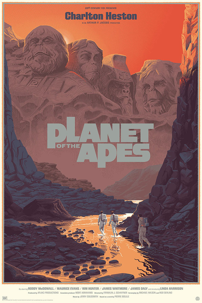 Planet Of The Apes - Regular by Franklin J Schaffner (24 x 36 in)