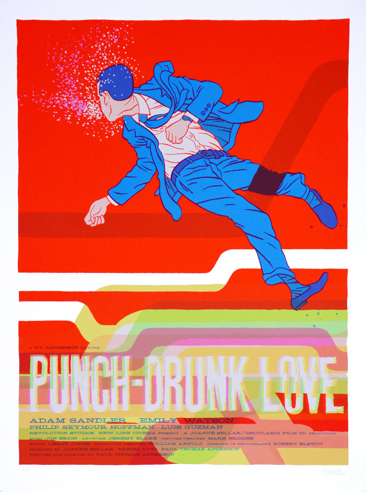Punch Drunk Love by Paul Thomas Anderson (18 x 24 in)