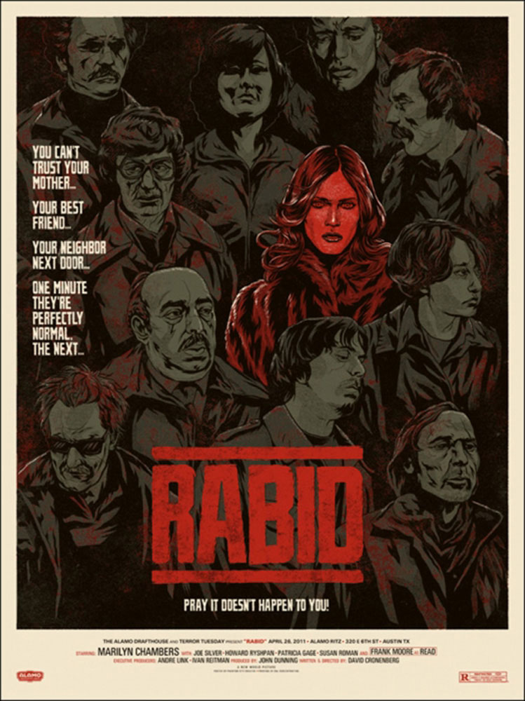 Rabid by David Cronenberg (18 x 24 in)