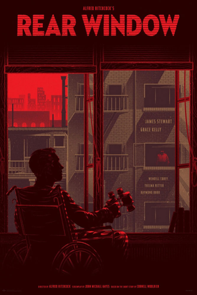 Rear Window - Variant par Alfred Hitchcock