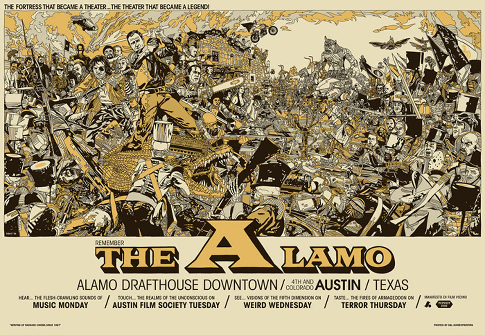 Remember The Alamo - Downtown by -