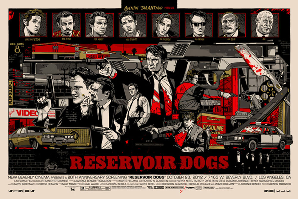Reservoir Dogs - Regular par Quentin Tarantino ()