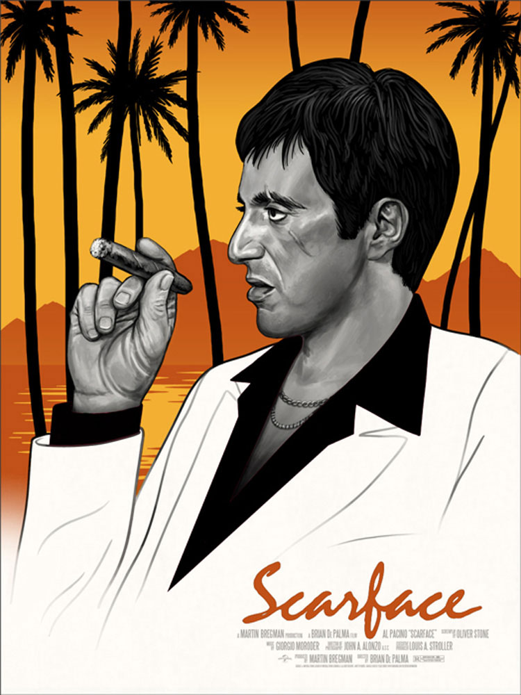 Scarface - Variant by Brian De Palma