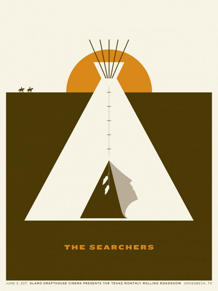 Searchers (the) by John Ford (18 x 24 in)