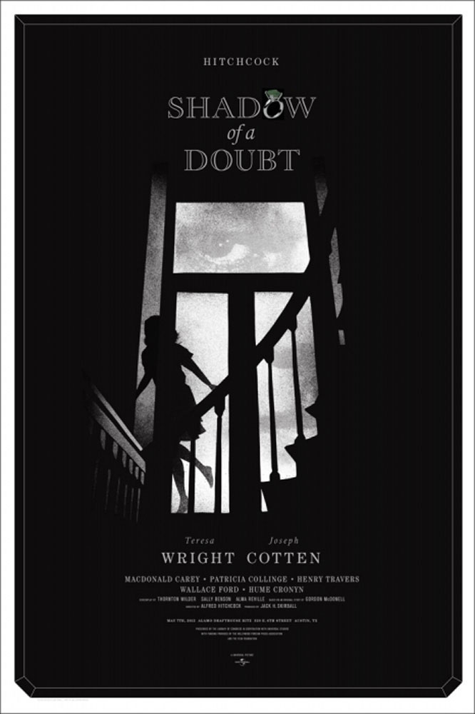 Shadow Of A Doubt par Alfred Hitchcock ()