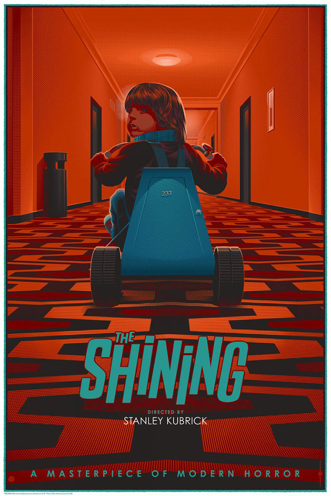 Shining (the) - Danny by Stanley Kubrick