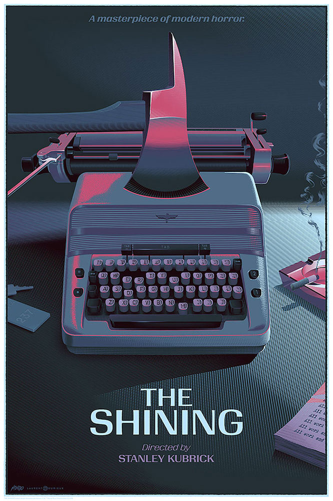 Shining (the) - Typewriter - Variant by Stanley Kubrick (24 x 36 in)