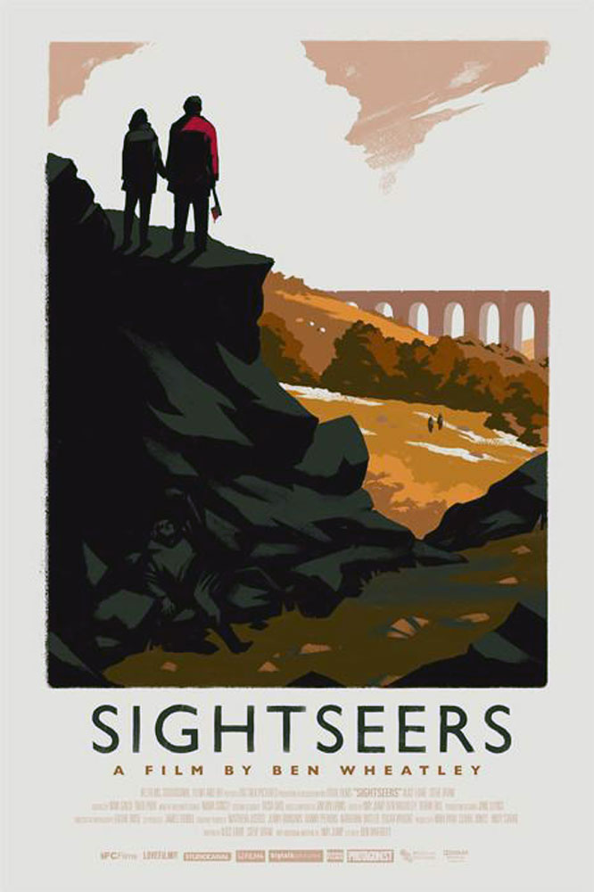 Sightseers - Variant by Ben Wheatley (16 x 24 in)