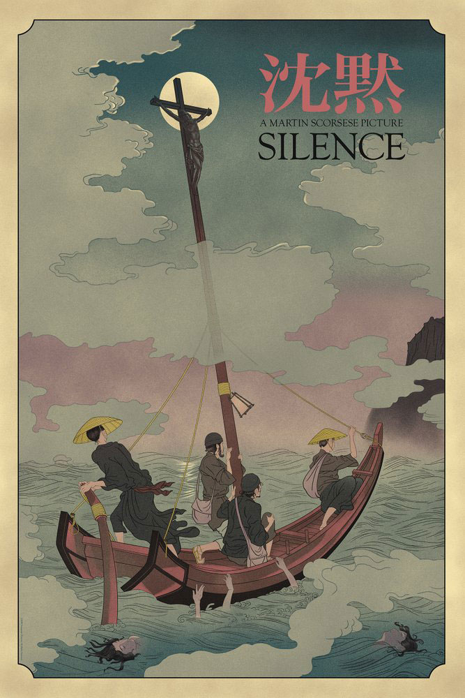 Silence by Martin Scorsese (24 x 36 in)