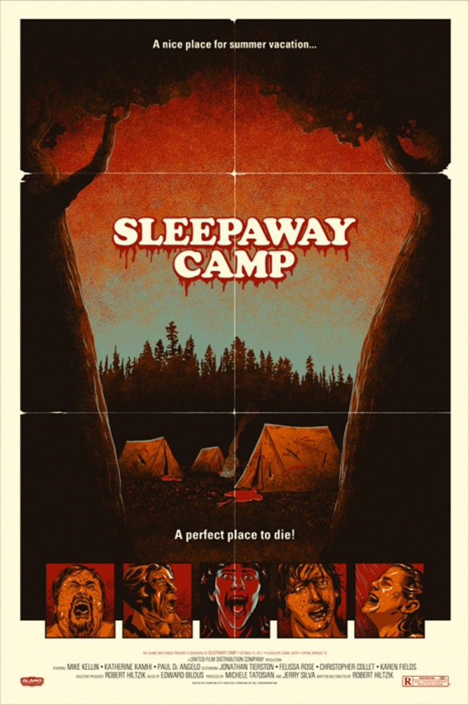 Sleepaway Camp par Robert Hiltzik (61 x 91 cm)