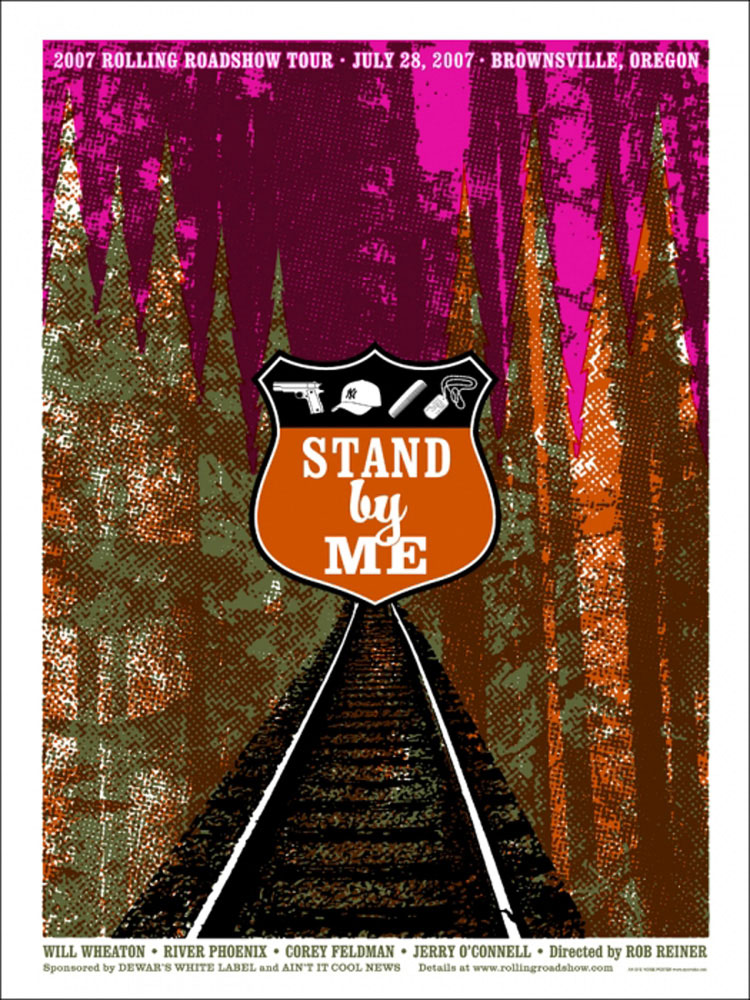 Stand By Me - Eye Noise par Rob Reiner (61 x 84 cm)