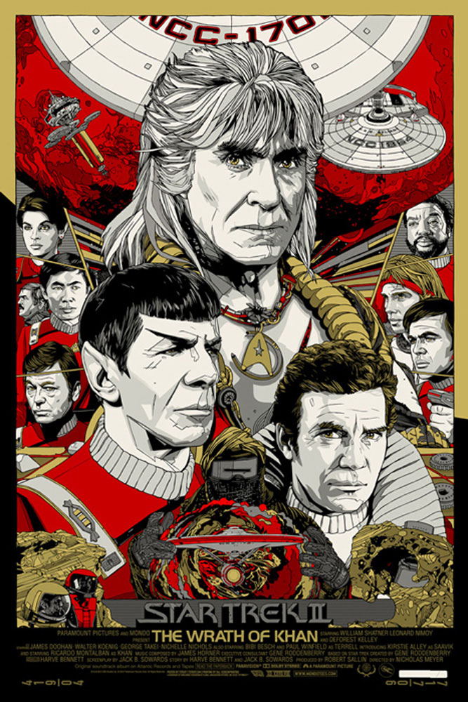Star Trek Ii : The Wrath Of Khan - Regular by Nicholas Meyer (24 x 36 in)