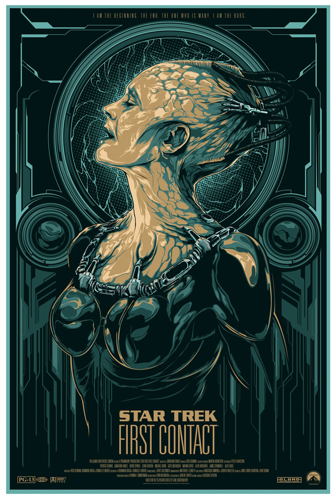 Star Trek : First Contact - Regular par Jonathan Frakes ()