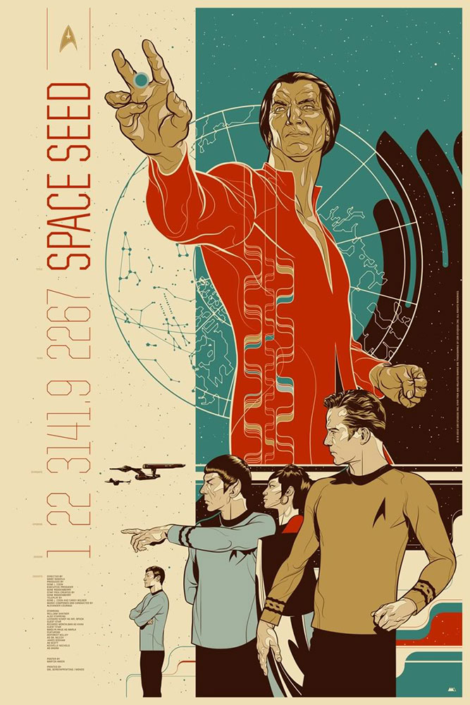 Star Trek : Space Seed - Regular par - (61 x 91 cm)