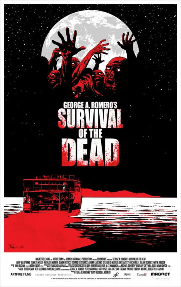 Survival Of The Dead par George Romero (56 x 86 cm)