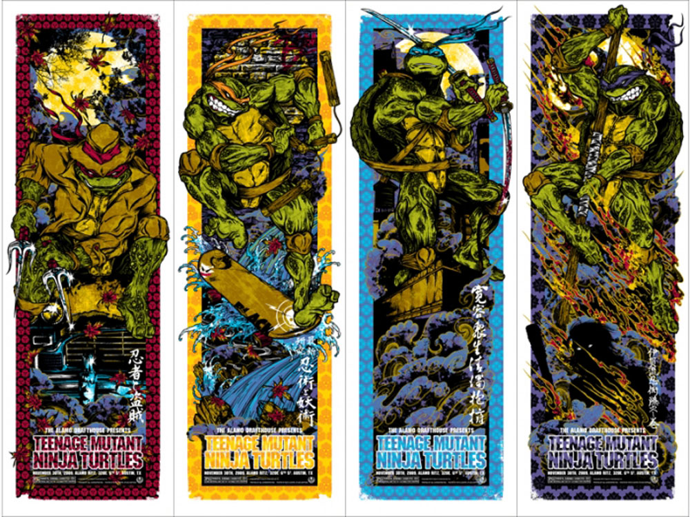 Teenage Mutant Ninja Turtle (set Of 4 Posters) by Steve Barron ()