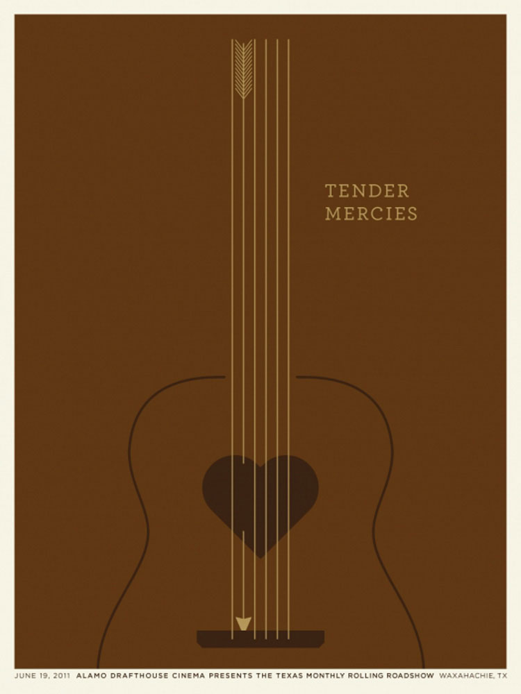 Tender Mercies by Bruce Beresford (18 x 24 in)