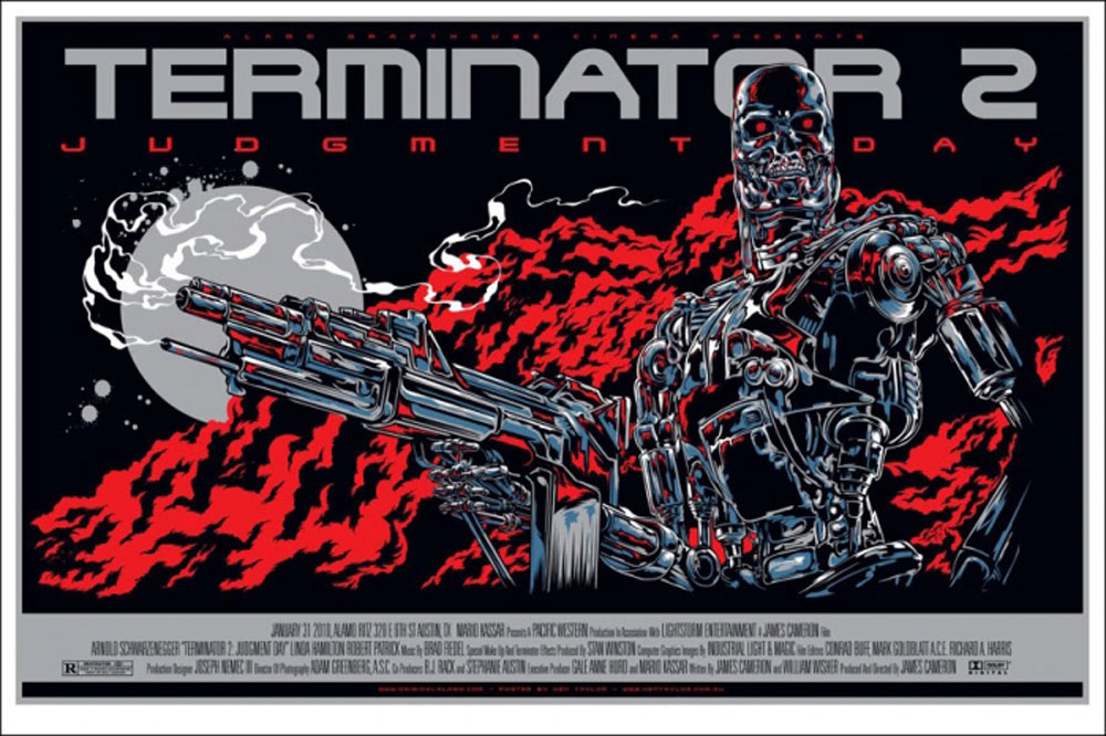Terminator 2 : Judgment Day by James Cameron (24 x 36 in)