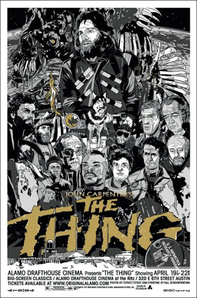 Thing (the) - Variant by John Carpenter (24.5 x 36 in)