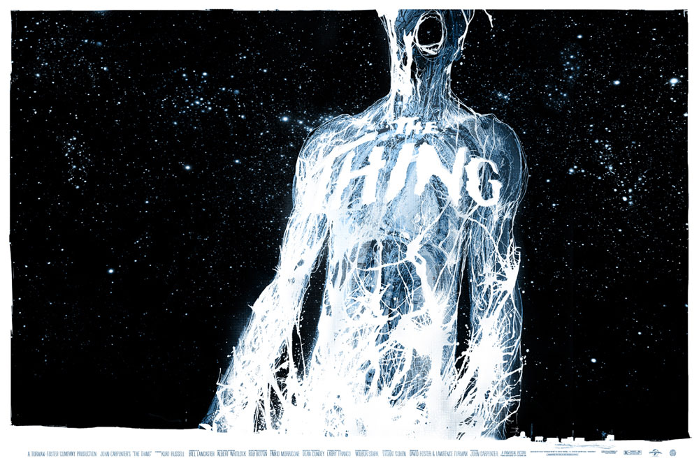 Thing (the) - Variant par John Carpenter (61 x 91 cm)
