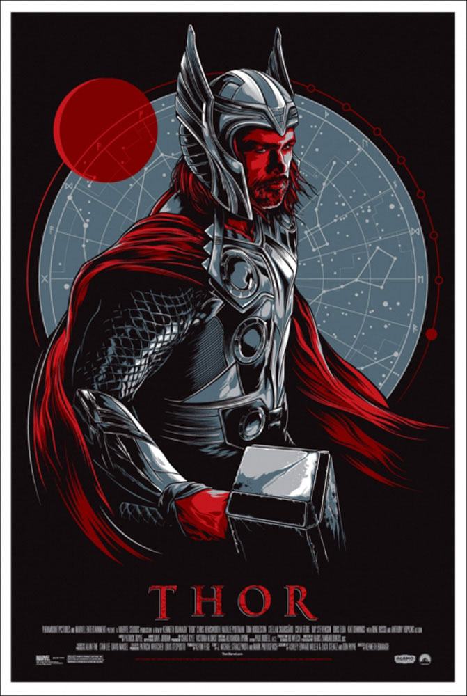 Thor by Kenneth Branagh (24 x 36 in)