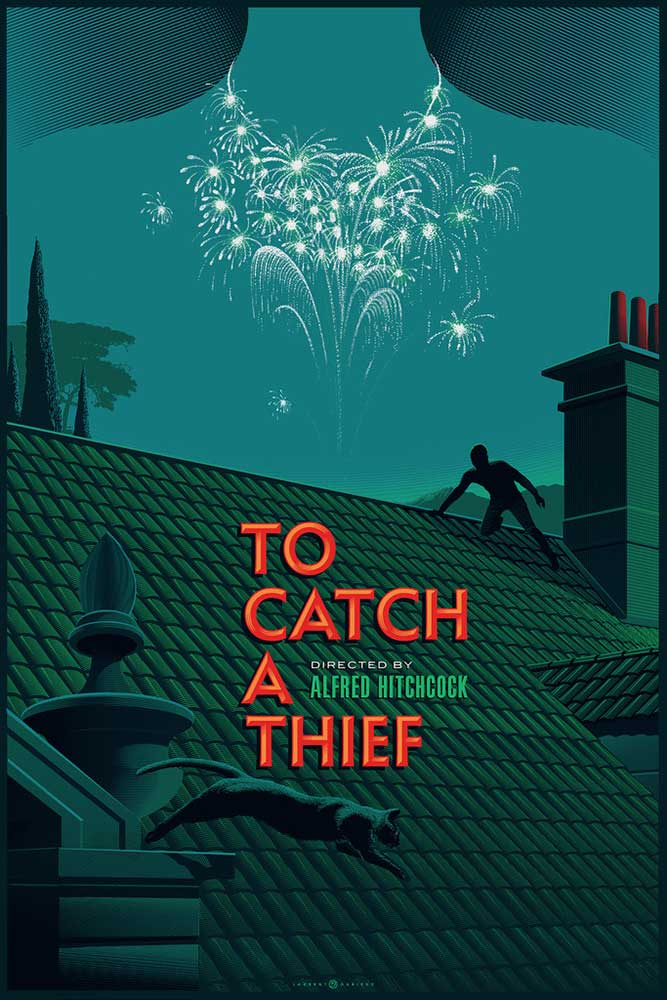 To Catch A Thief - Variant par Alfred Hitchcock