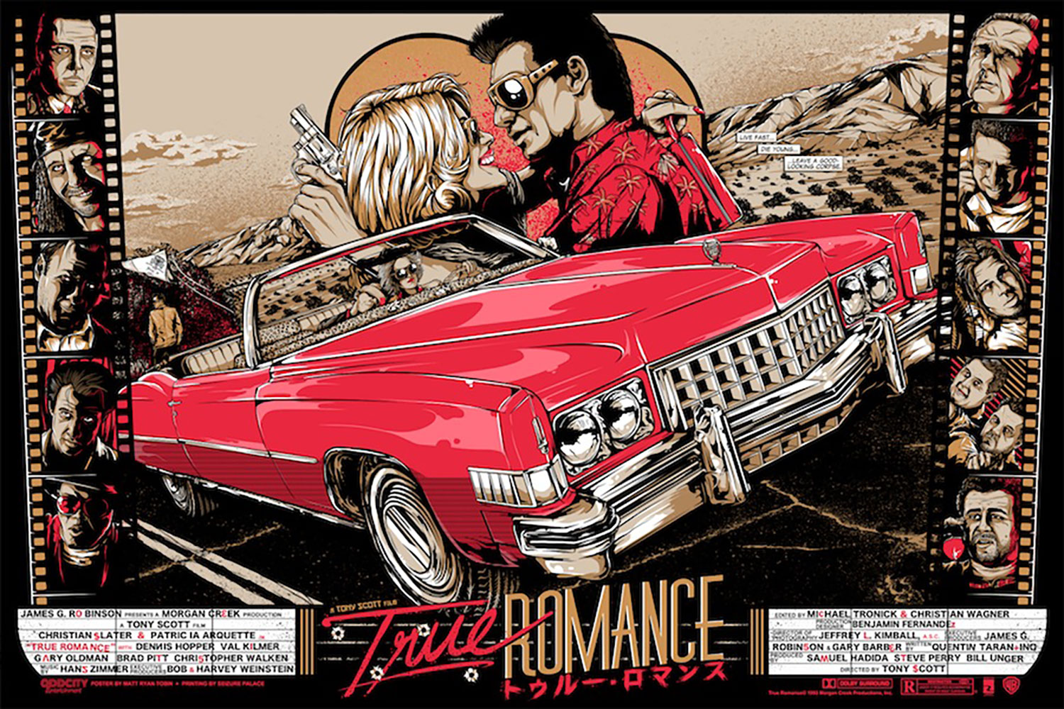 True Romance - Variant par Tony Scott