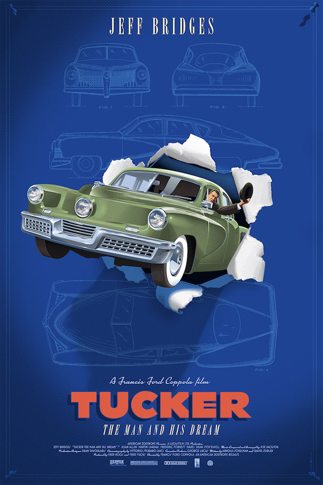 Tucker - Variant - Green by Francis Ford Coppola