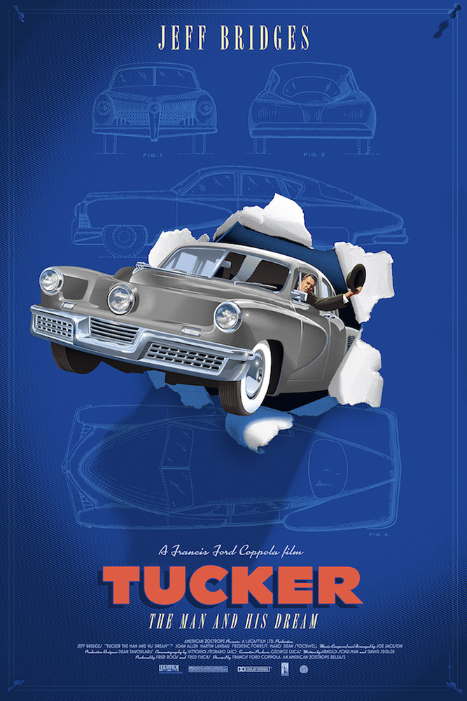 Tucker - Variant - Grey by Francis Ford Coppola