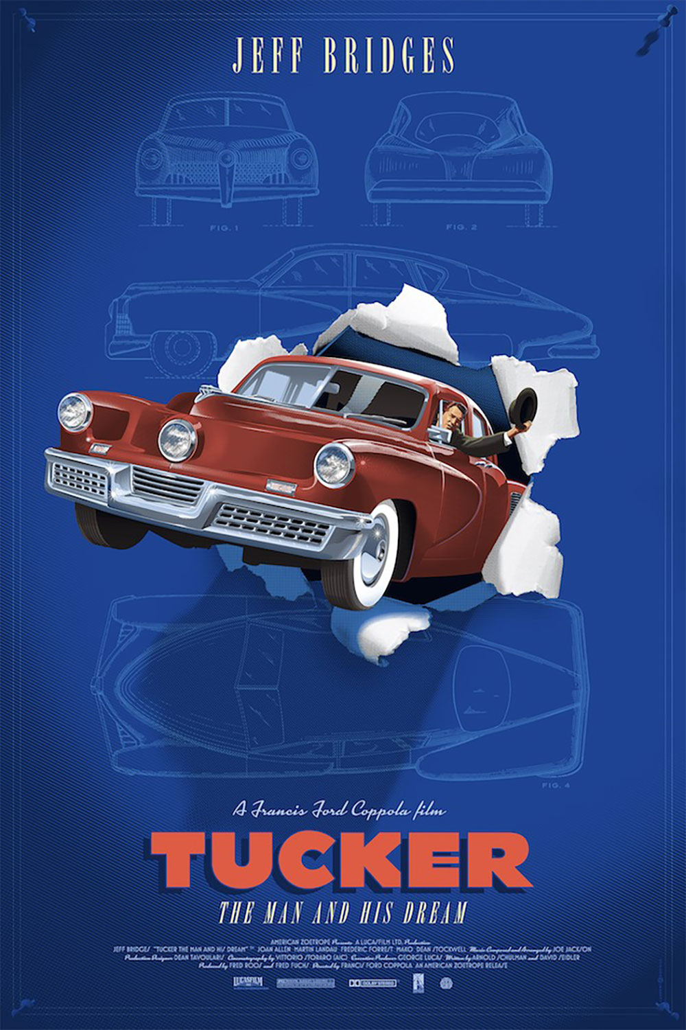 Tucker - Variant - Maroon by Francis Ford Coppola