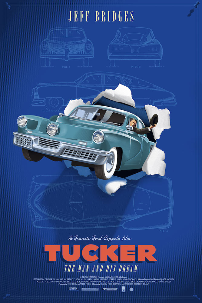 Tucker - Variant - Waltz Blue by Francis Ford Coppola