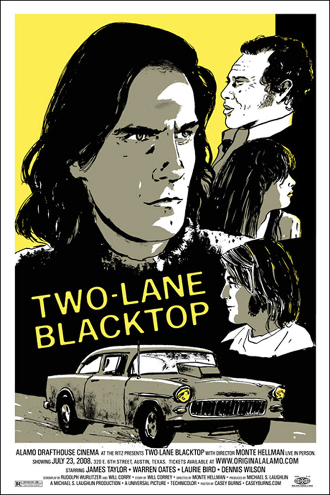Two-lane Blacktop by Monte Hellman