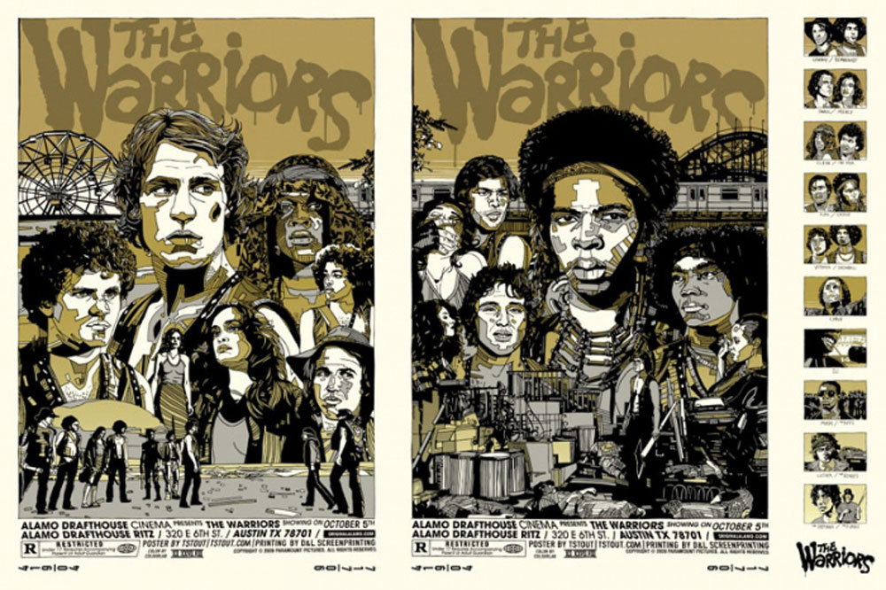 Warriors (the) - Uncut Variant by Walter Hill (24 x 36 in)