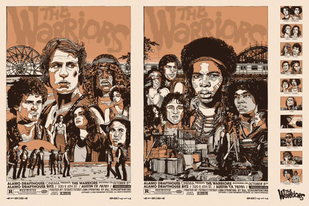 Warriors (the) - Uncut Regular by Walter Hill (24 x 36 in)