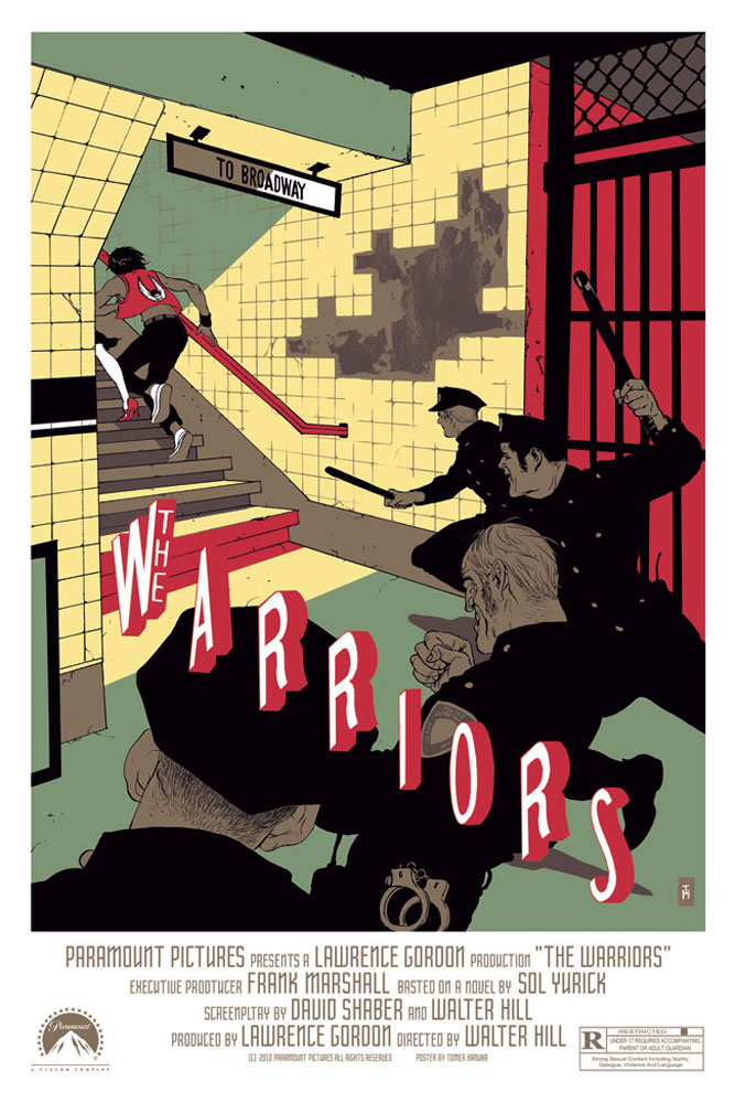 Warriors (the) par Walter Hill (61 x 91 cm)