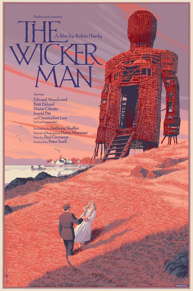 Wicker Man (the) - Regular par Robin Hardy (61 x 91 cm)