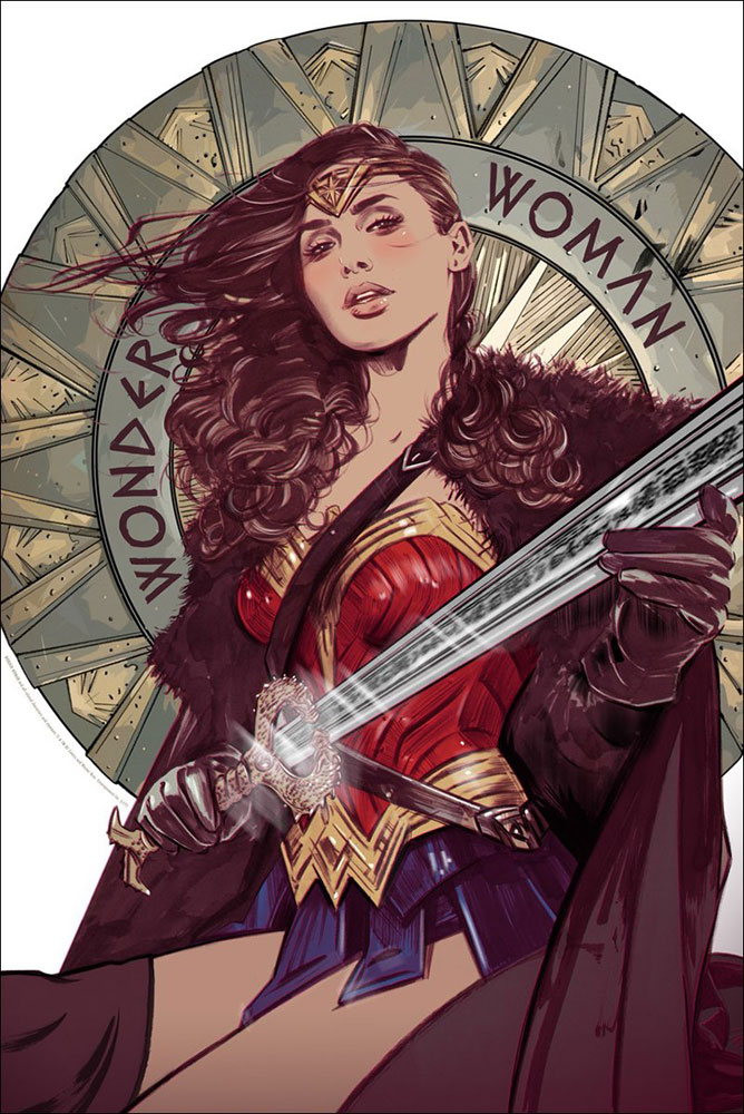 Wonder Woman by Patty Jenkins (24 x 36 in)